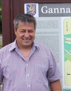 Nagy Ottó Ganna Polgármestere